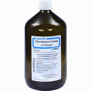 Abbildung von Solutio Ethacridinlactat- Lösung 0,1 %  1 l