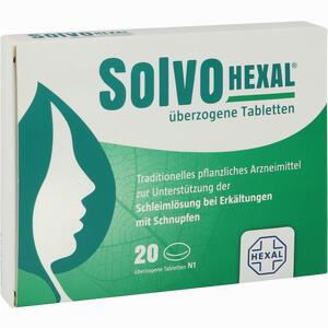Abbildung von Solvohexal überzogene Tabletten  20 Stück