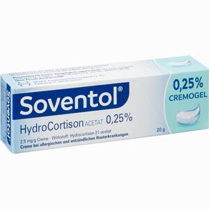 Abbildung von Soventol Hydrocortisonacetat 0.25% Creme 20 g