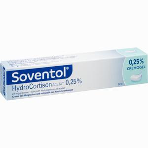 Abbildung von Soventol Hydrocortisonacetat 0.25% Creme 50 g
