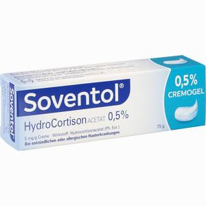Abbildung von Soventol Hydrocortisonacetat 0.5% Creme 15 g