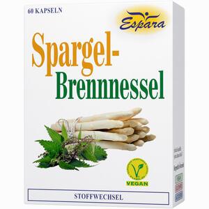 Abbildung von Spargel- Brennessel - Kapsel Kapseln 60 Stück