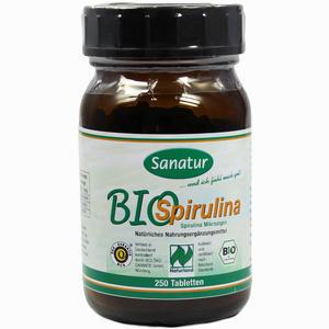 Abbildung von Spirulina Bio Tabletten  250 Stück
