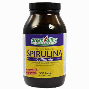 Abbildung von Spirulina Earthrise Tabletten 500 Stück