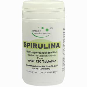 Abbildung von Spirulina Tabletten  120 Stück