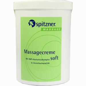 Abbildung von Spitzner Massagecreme Soft Massage  1000 ml