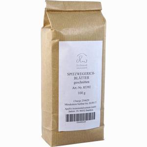 Abbildung von Spitzwegerichblätter Geschnitten Tee 100 g