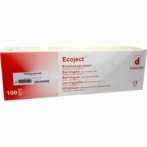 Abbildung von Spritzen Einmal Luer Ecoject Sri  100 x 5 ml
