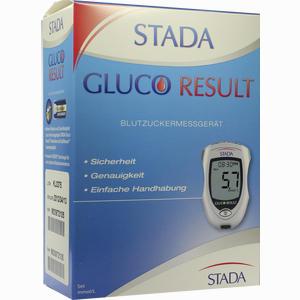 Abbildung von Stada Gluco Result Blutzuckermessgerät Mmol/L 1 Stück