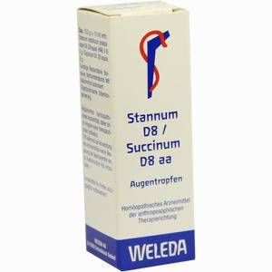 Abbildung von Stannum D8 Succinum D8 Aa Augentropfen  10 ml