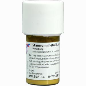 Abbildung von Stannum Met Praep D8 Trituration 20 g