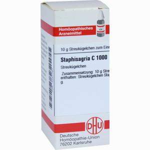 Abbildung von Staphisagria C1000 Globuli 10 g