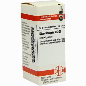 Abbildung von Staphisagria D200 Globuli 10 g