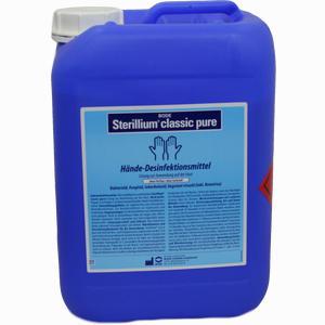 Abbildung von Sterillium Classic Pure Lösung 5 l