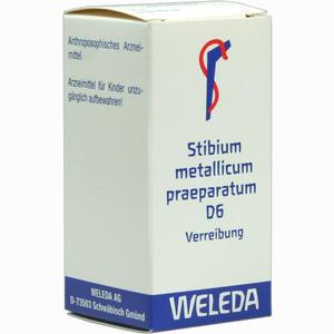 Abbildung von Stibium Met Praep D6 Trituration 20 g