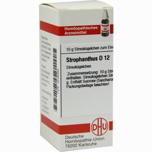 Abbildung von Strophanthus D12 Globuli 10 g