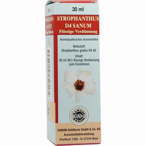 Abbildung von Strophanthus D4 Sanum Flüssige Verdünnung Tropfen 30 ml