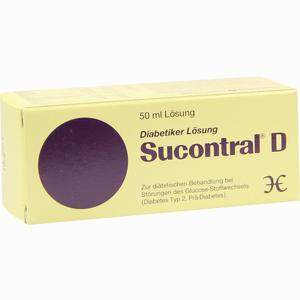 Abbildung von Sucontral D Diabetiker Lösung  50 ml