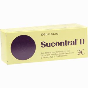 Abbildung von Sucontral D Diabetiker Lösung  100 ml