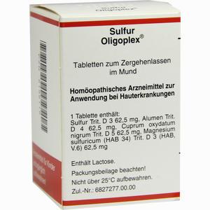 Abbildung von Sulfur Oligoplex Tabletten 150 Stück