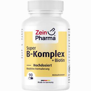 Abbildung von Super B- Komplex + Biotin Zeinpharma Kapseln 90 Stück