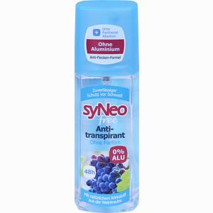 Abbildung von Syneo Free 48h Antitranspirant Pumpspray Xds 75 ml
