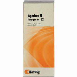 Abbildung von Synergon Kompl Agaricus N Nr. 32 Tropfen 20 ml