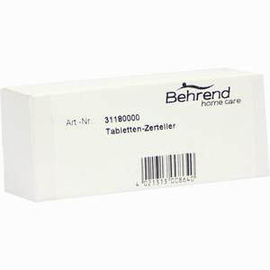 Abbildung von Tabletten Zerteiler 1 Stück