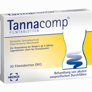 Abbildung von Tannacomp Filmtabletten 20 Stück