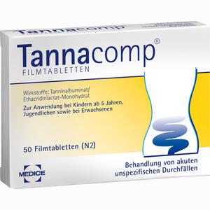 Abbildung von Tannacomp Filmtabletten 50 Stück