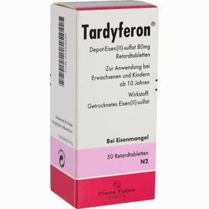Abbildung von Tardyferon Retardtabletten 50 Stück