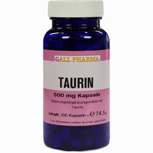 Abbildung von Taurin 500mg Kapseln  100 Stück
