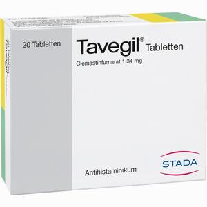 Abbildung von Tavegil Tabletten 20 Stück