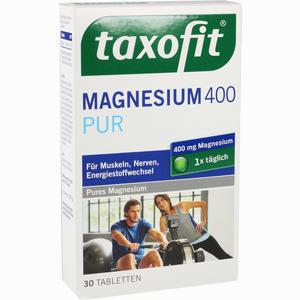 Abbildung von Taxofit Magnesium 400 Pur Tabletten  30 Stück