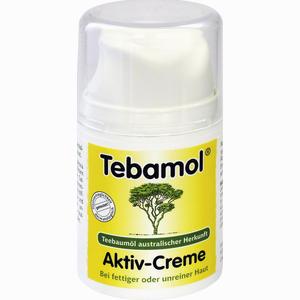 Abbildung von Tebamol Teebaumöl Aktiv- Creme  50 ml