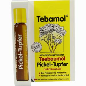 Abbildung von Tebamol Teebaumöl Pickel- Tupfer Körperpflege 10 ml