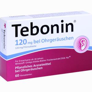 Abbildung von Tebonin 120 Mg bei Ohrgeräuschen Filmtabletten 60 Stück