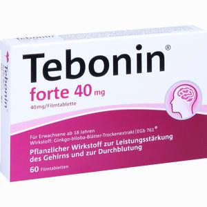 Abbildung von Tebonin Forte 40 Mg Filmtabletten 60 Stück