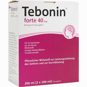 Abbildung von Tebonin Forte 40 Mg Lösung 2 x 100 ml