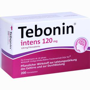Abbildung von Tebonin Intens 120mg Filmtabletten 200 Stück