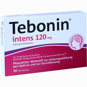Abbildung von Tebonin Intens 120mg Filmtabletten 30 Stück