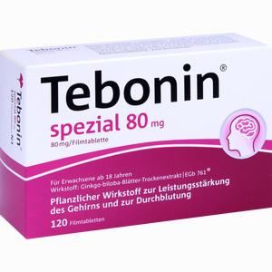 Abbildung von Tebonin Spezial 80mg Filmtabletten 120 Stück