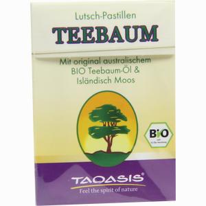 Abbildung von Teebaum Lutsch- Pastillen Bonbon 30 g