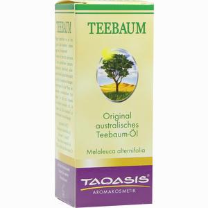 Abbildung von Teebaum- Öl im Umkarton  50 ml