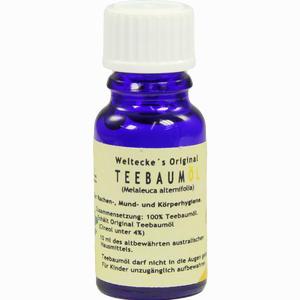 Abbildung von Teebaum Öl  Weltecke alexander  arzneimittel 10 ml