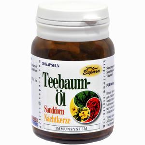 Abbildung von Teebaumöl Kapseln 30 Stück