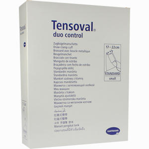 Abbildung von Tensoval Duo Control Ii Zugbügelmanschette Small 17- 22cm 1 Stück