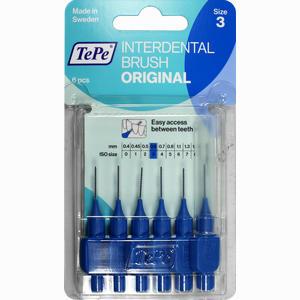 Abbildung von Tepe Id Bürste Blau 0.6mm Zahnbürste 6 Stück