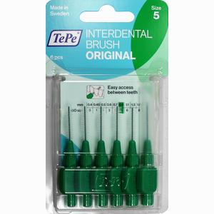 Abbildung von Tepe Interdentalbürste Grün 0.8mm Zahnbürste 6 Stück