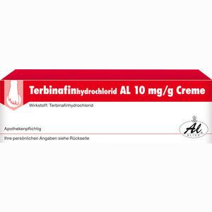 Abbildung von Terbinafinhydrochlorid Al 10mg/g Creme  30 g